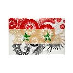 Syria Flag Rectangle Magnet (100 pack)
