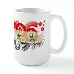 Syria Flag Large Mug