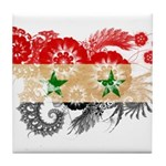 Syria Flag Tile Coaster