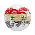 Syria Flag Ornament (Round)