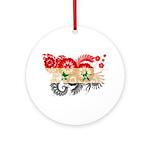 Syria Flag Ornament (Round)