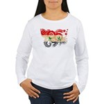 Syria Flag Women's Long Sleeve T-Shirt