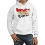 Syria Flag Hooded Sweatshirt