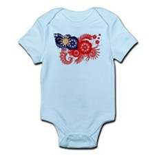 Taiwan Flag Infant Bodysuit