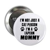"Laperm Cat Design 2.25"" Button (10 pack)"