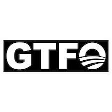 Nobama GTFO! - Bumper Bumper Sticker