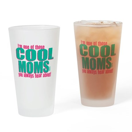 Cool Mom Drinking Glass