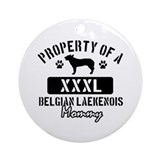 Belgian Laekenois Mommy Ornament (Round)