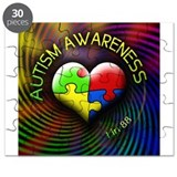 Autism Awareness - 1 in 88 Puzzle