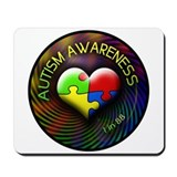 Autism Awareness - 1 in 88 Mousepad