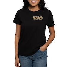 Team Peeta and Love Changed t Women's Dark T-Shirt