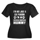 American Shorthair Cat Design Women's Plus Size Sc