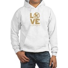 love and real or not real Hoodie