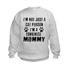 Tonkinese Cat Design Sweatshirt
