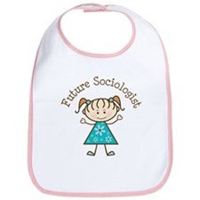 Future Sociologist Girl Bib