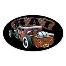 Rat Rod Truck Decal