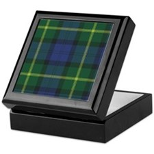 Tartan - Gordon of Esselmont Keepsake Box
