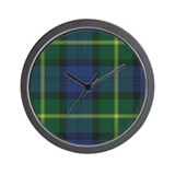Tartan - Gordon of Esselmont Wall Clock