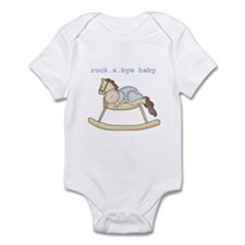 Rockabye Baby (white boy) Infant Creeper
