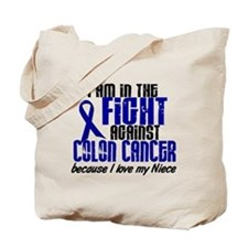 In The Fight Colon Cancer Tote Bag