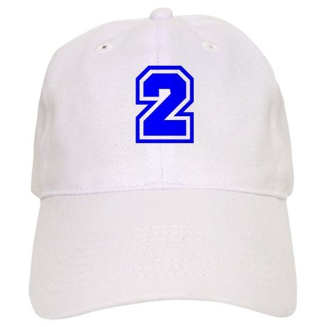 Varsity Uniform Number 2 (Blue) Cap