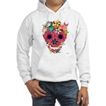 Skull Flowers by WAM Hooded Sweatshirt