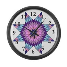 Star of Bethlehem Large Wall Clock