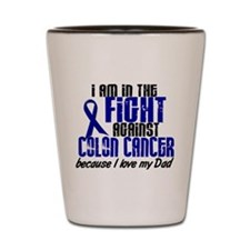 In The Fight Colon Cancer Shot Glass