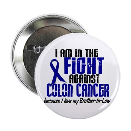 "In The Fight Colon Cancer 2.25"" Button (100 pack)"