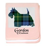 Terrier - Gordon of Esselmont baby blanket