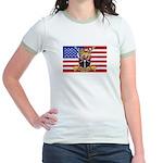 U.S.A. Rhodesia Flag Jr. Ringer T-Shirt