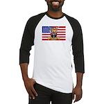 U.S.A. Rhodesia Flag Baseball Jersey
