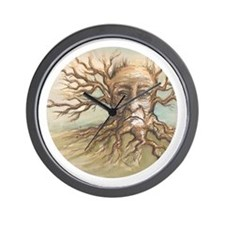 """The Old Man Tree"" by Peggy Paola wall clock"