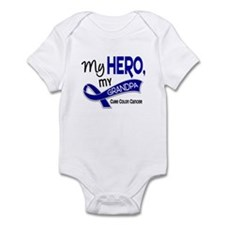 My Hero Colon Cancer Infant Bodysuit