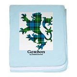 Lion - Gordon of Esselmont baby blanket