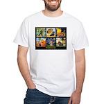 Dachshund Famous Art 1 White T-Shirt
