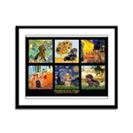 Dachshund Famous Art 1 Framed Panel Print