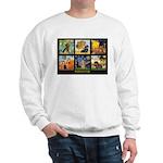 Dachshund Famous Art 1 Sweatshirt