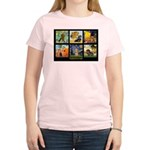 Dachshund Famous Art 1 Women's Light T-Shirt