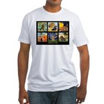 Dachshund Famous Art 1 Fitted T-Shirt