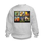 Dachshund Famous Art 1 Kids Sweatshirt