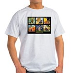 Dachshund Famous Art 1 Light T-Shirt
