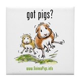 Cute Guinea pig Tile Coaster