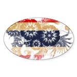Thailand Flag Sticker (Oval)