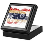 Thailand Flag Keepsake Box