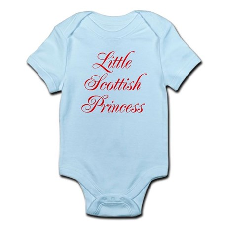Little Scottish Princess Infant Bodysuit