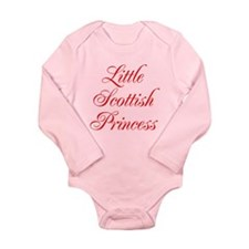 Little Scottish Princess Long Sleeve Infant Bodysu