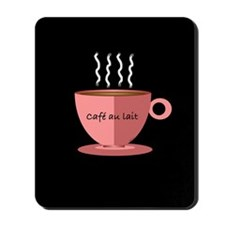 Cafe au Lait Mousepad