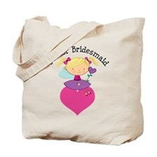 Junior Bridesmaid Fairy Wedding Tote Bag