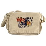 Turks and Caicos Flag Messenger Bag